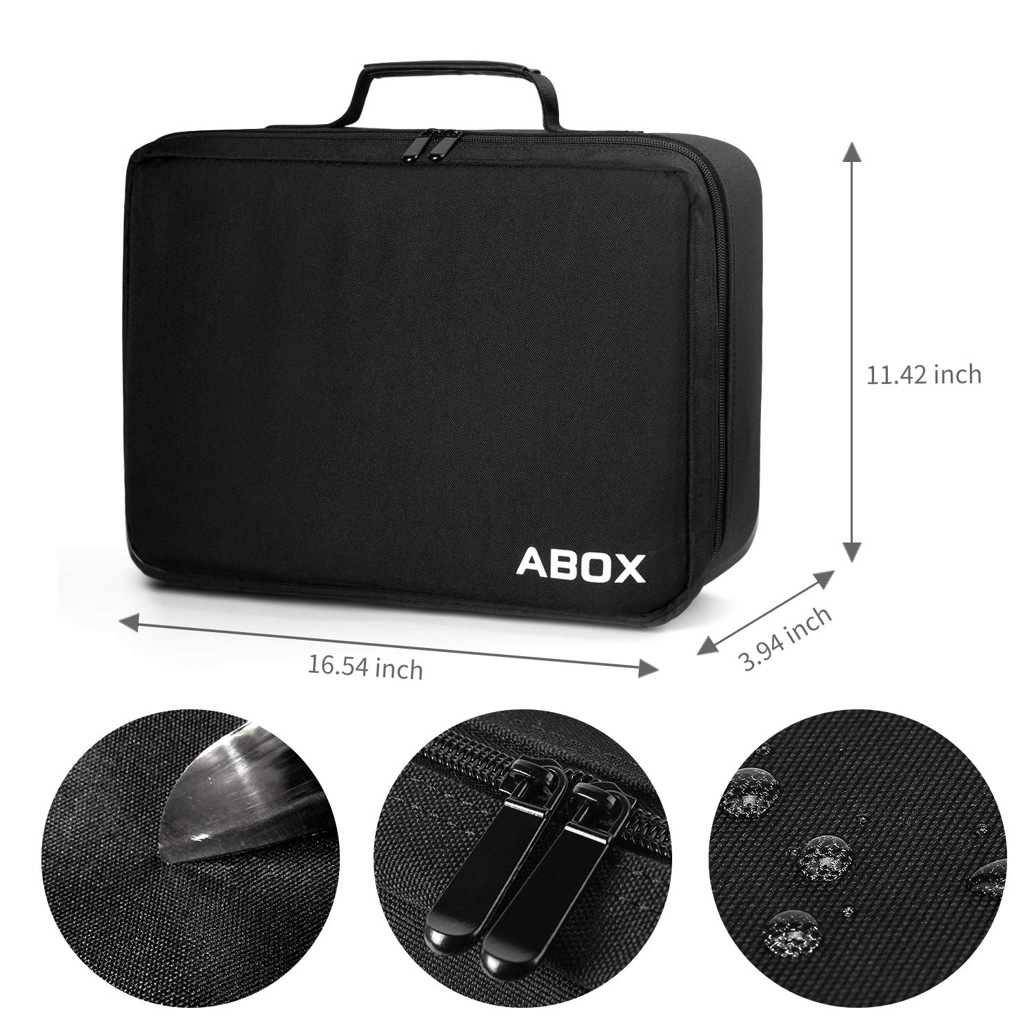 ABOX Carrying Bag fits ABOX A6 4000 Lumens LCD Full HD Multimedia Home Theater Video Projector-Dust Proof & Waterproof,Scratch-Resistant by GooBang Doo (Image #3)