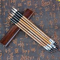 falso Wolf Hair Brush Pen Calligraphy Kanji giapponese Sumi Drawing Brush Pen