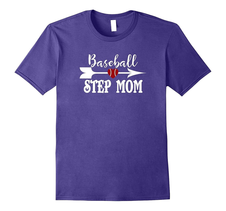 Baseball Stepmom Tshirt Mothers Day Birthday Gift Idea Hntee