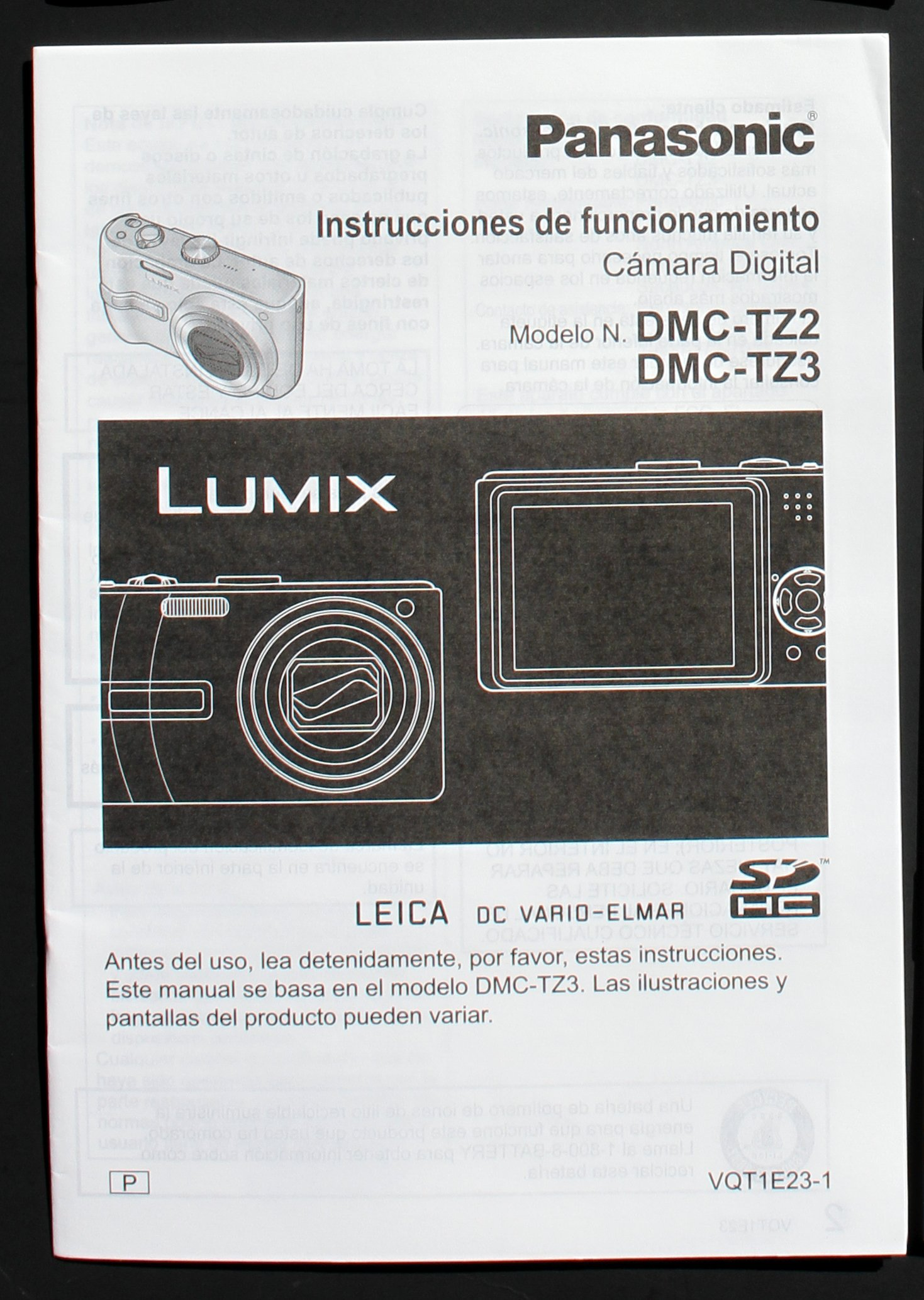 lumix tz3 manual various owner manual guide u2022 rh justk co Panasonic Lumix DMC-GF2 Panasonic DMC TZ3 Charger