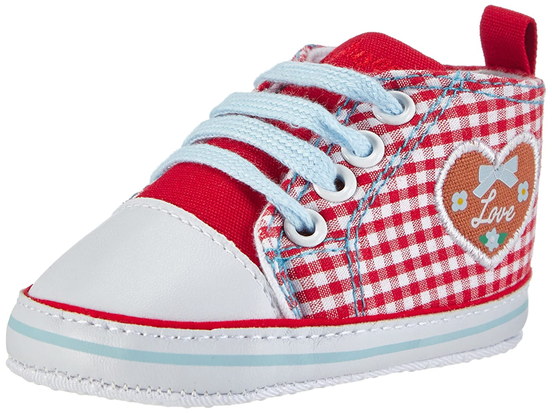 Playshoes Baby Turnschuhe, Sneaker Herzchen Love - Zapatos para Bebes Bebé -Niñ as Sneaker Herzchen Love - Zapatos para Bebes Bebé-Niñas 121541