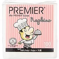 Premier Little Chef Serviette 100% pulp, 100 count