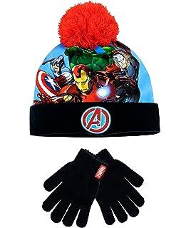 Star Wars Hat and Gloves Set Kids Boys Girls Thermal Winter Set