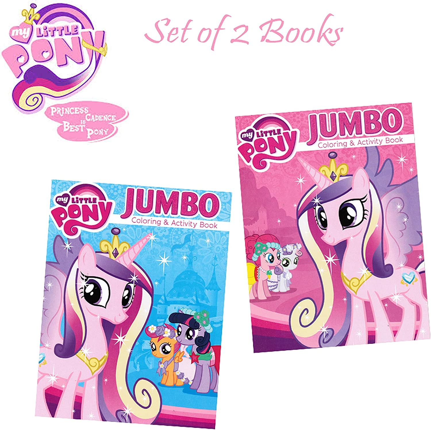 - Amazon.com: My Little Pony Coloring And Activity Book Set