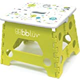 bblüv - Stëp - Foldable Step Stool - Safe, Compact and Easy to Clean (Lime)