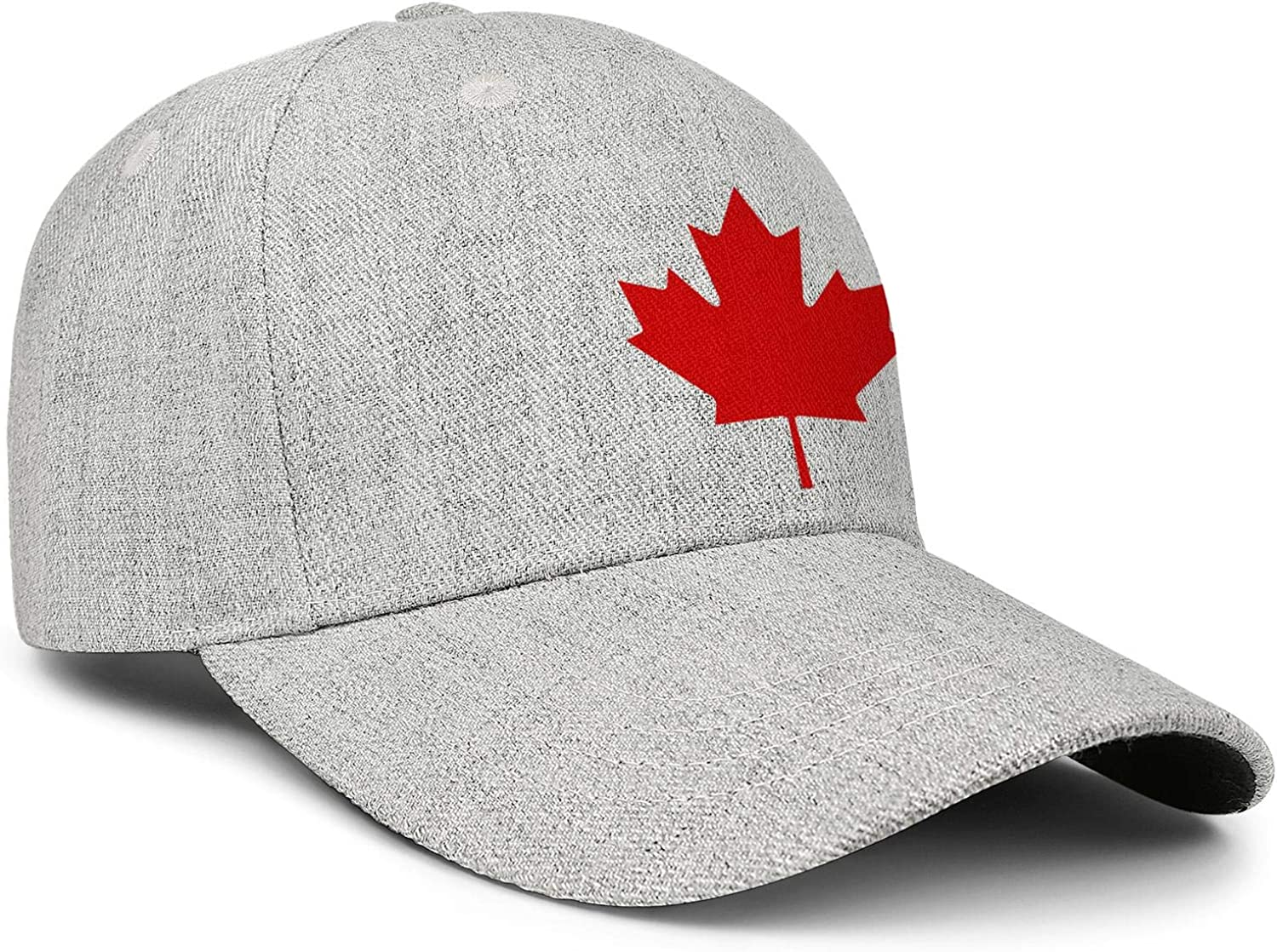 Canada-Maple-Leaf-icon-Simple Unisex Baseball Cap Two-Tone Stretch Running Hats Adjustable Trucker Caps Dad-Hat