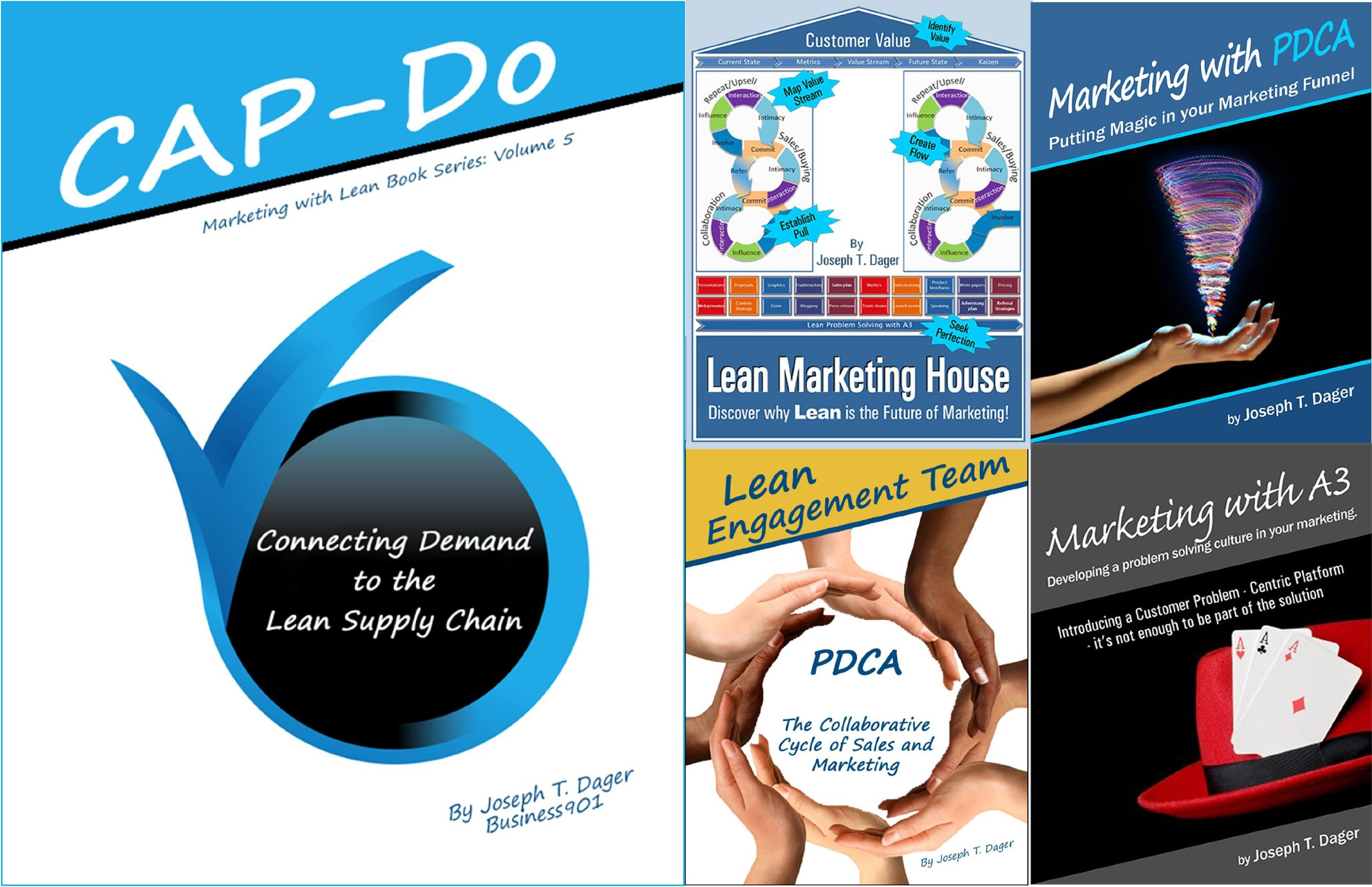 Marketing with Lean includes Lean Marketing House, CAP-Do, Marketing with PDCA, Marketing with A3, Lean Engagement Team (Marketing with Lean Series) ebook