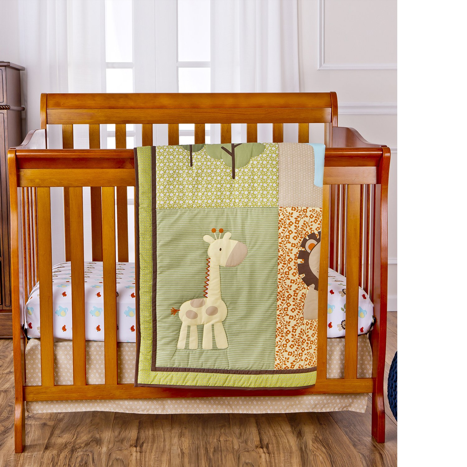 chenille large all designs crib shabby carousel sets mini bedding portable