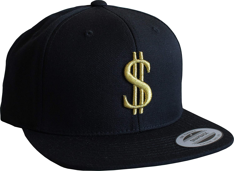 Gorra de béisbol: Dólar Dorado - Flexfit Classic Snapback Basecap ...