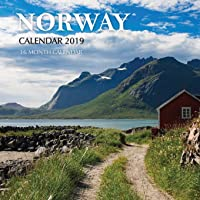 Norway Calendar 2019: 16 Month Calendar