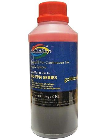 Gocolor Korean Quality Epson Compatible Inkjet Ink 500 ml Magenta Color  Dye Ink  Ink Cartridges
