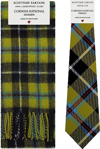 Mens Tie All Wool Made in Scotland Scottish National Tartan