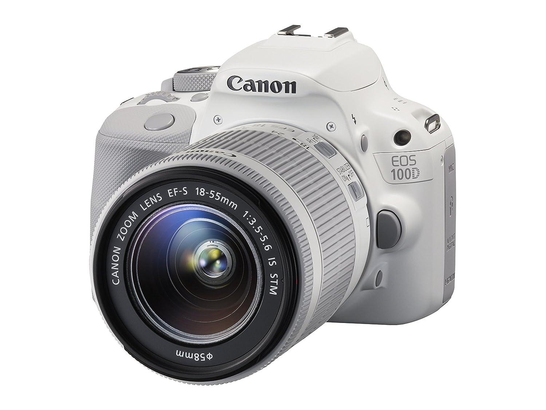 Canon EOS 100D + EF-S 18-55mm Juego de cámara SLR 18 MP CMOS 5184 ...