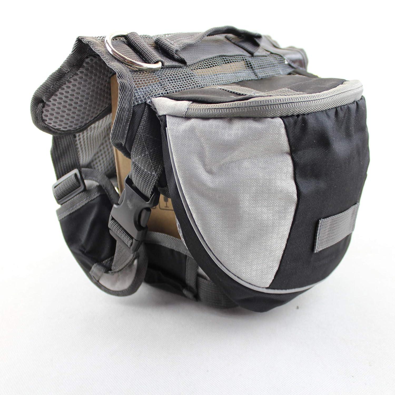 Black 87x99x78cm black 87x99x78cm Pet Dog Backpack Self-Wrapping Bag Large Dog Camel Bag Out Travel Portable Bag golden Retriever Husky Pet Supplies Black 87X99X78Cm