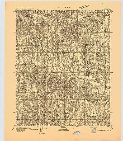 Fabulous Amazon Com Yellowmaps Stillwater Ok Topo Map 1 62500 Scale Uwap Interior Chair Design Uwaporg