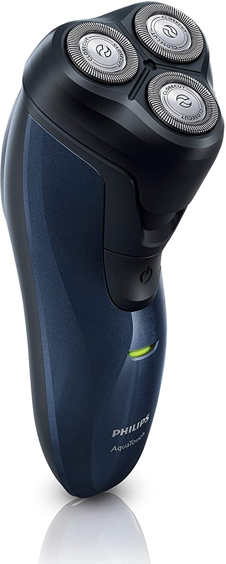 Philips AT620 AquaTouch Wet and Dry Rechargeable Electric Men Rotary Shaver: Amazon.es: Salud y cuidado personal