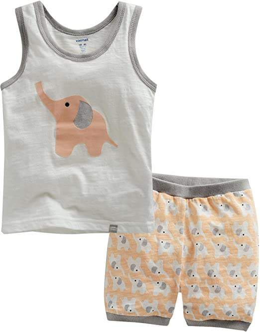 Vaenait Pijama sin Mangas para Hombre diseño de Palabra en inglés diseño de niñas de para