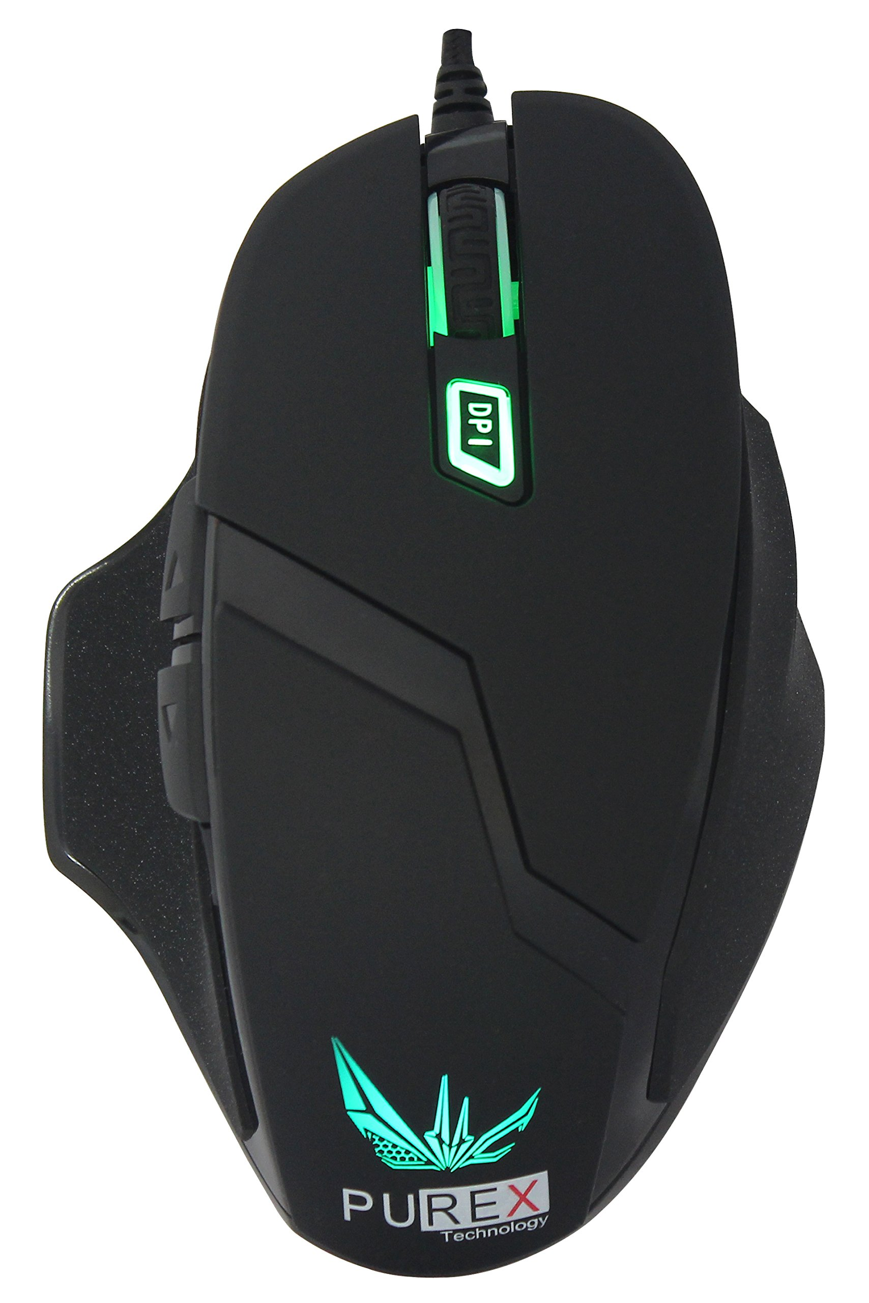 Mouse Gamer : PUREX Technology 4000 DPI High Precision Progr