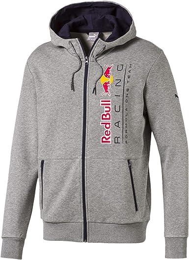 PUMA Blouson à Capuche en Sweat Red Bull