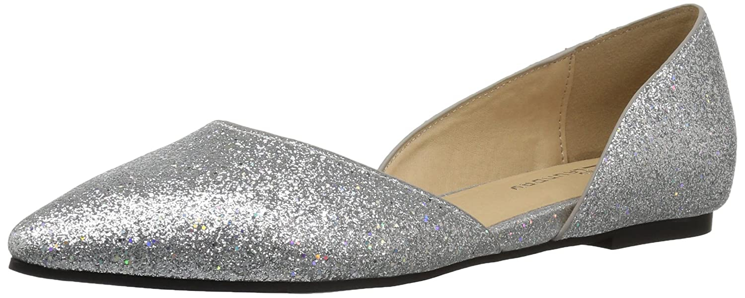 CL Hearty by Chinese Laundry Women's Hearty CL Pointed Toe Flat B074RD99YW 7.5 B(M) US|Platinum Glitter 579f0f
