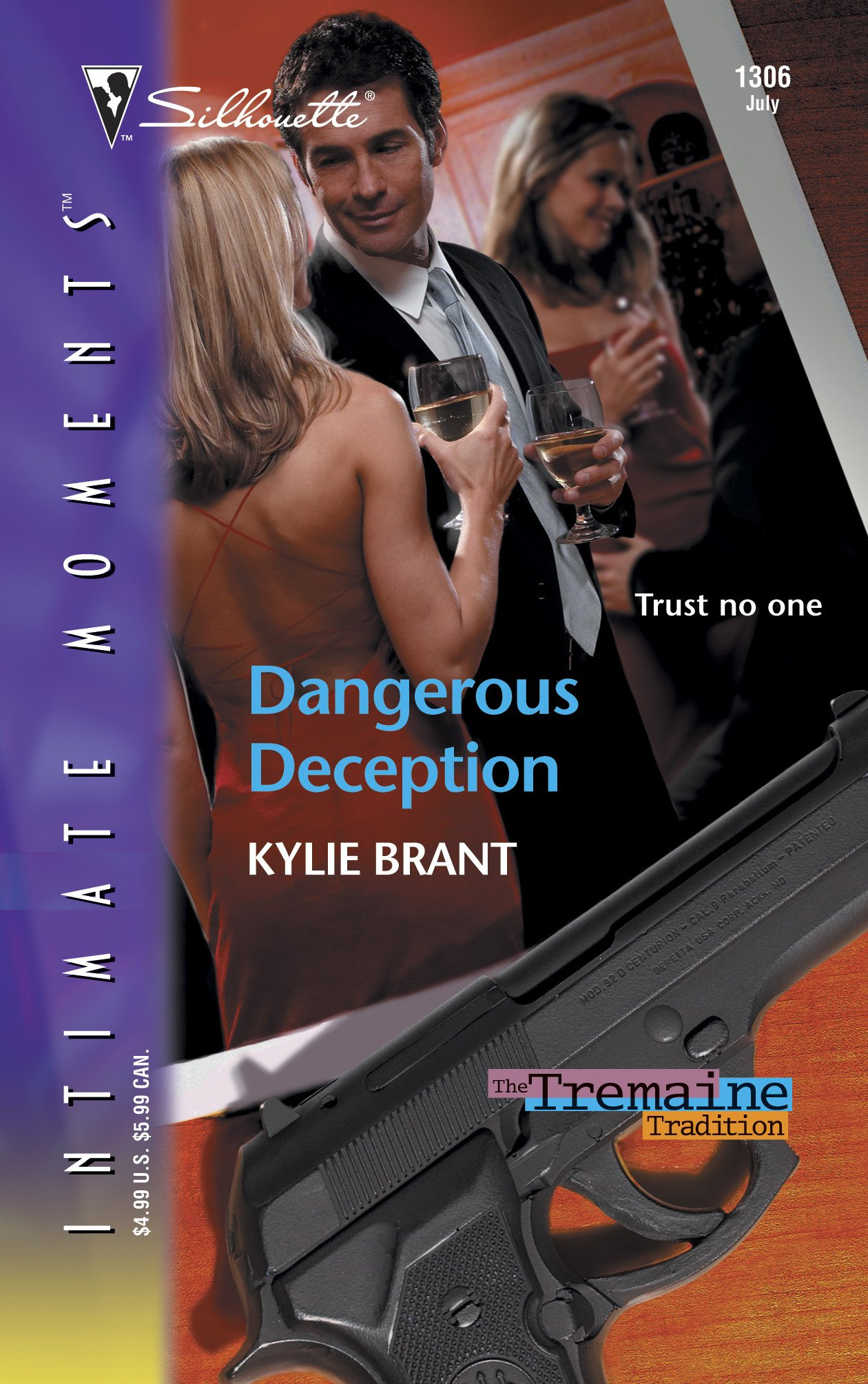 Read Online Dangerous Deception (Silhouette Intimate Moments No. 1306)(the Tremaine Tradition series) PDF
