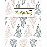 Budgeting Workbook: Finance Monthly & Weekly Budget Planner Expense Tracker Bill Organizer Journal Notebook Budget Planning Budget Worksheets Personal ... Money Workbook Pink Floral Cover: Volume 1