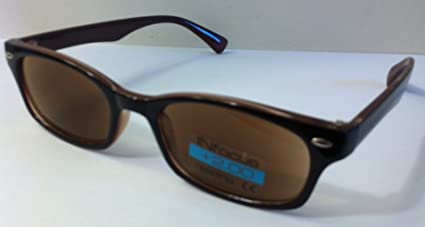 Reading Glasses R4803 NICHOLSON SUN Brown-Strength +3.00 by For Your Eyes Only Bf8QjCFCc