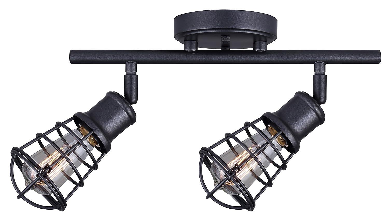 CANARM LTD. IT356A02BPT10 James 電球2個用 トラック照明 2 light IT611A02GPH 1 2 light 黒鉛 黒鉛 2 light B01LBFU26E