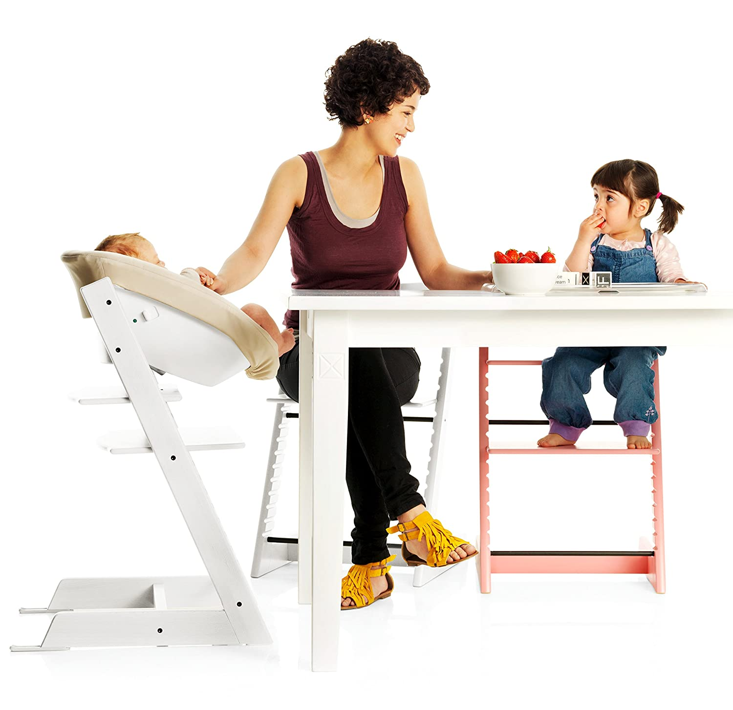 luxury stokke high chair. Black Bedroom Furniture Sets. Home Design Ideas