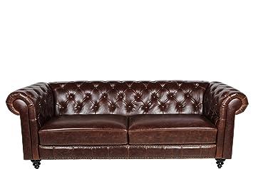 Ac Design Furniture 43699 Chesterfieldsofa Henning 3 Sitzer Circa