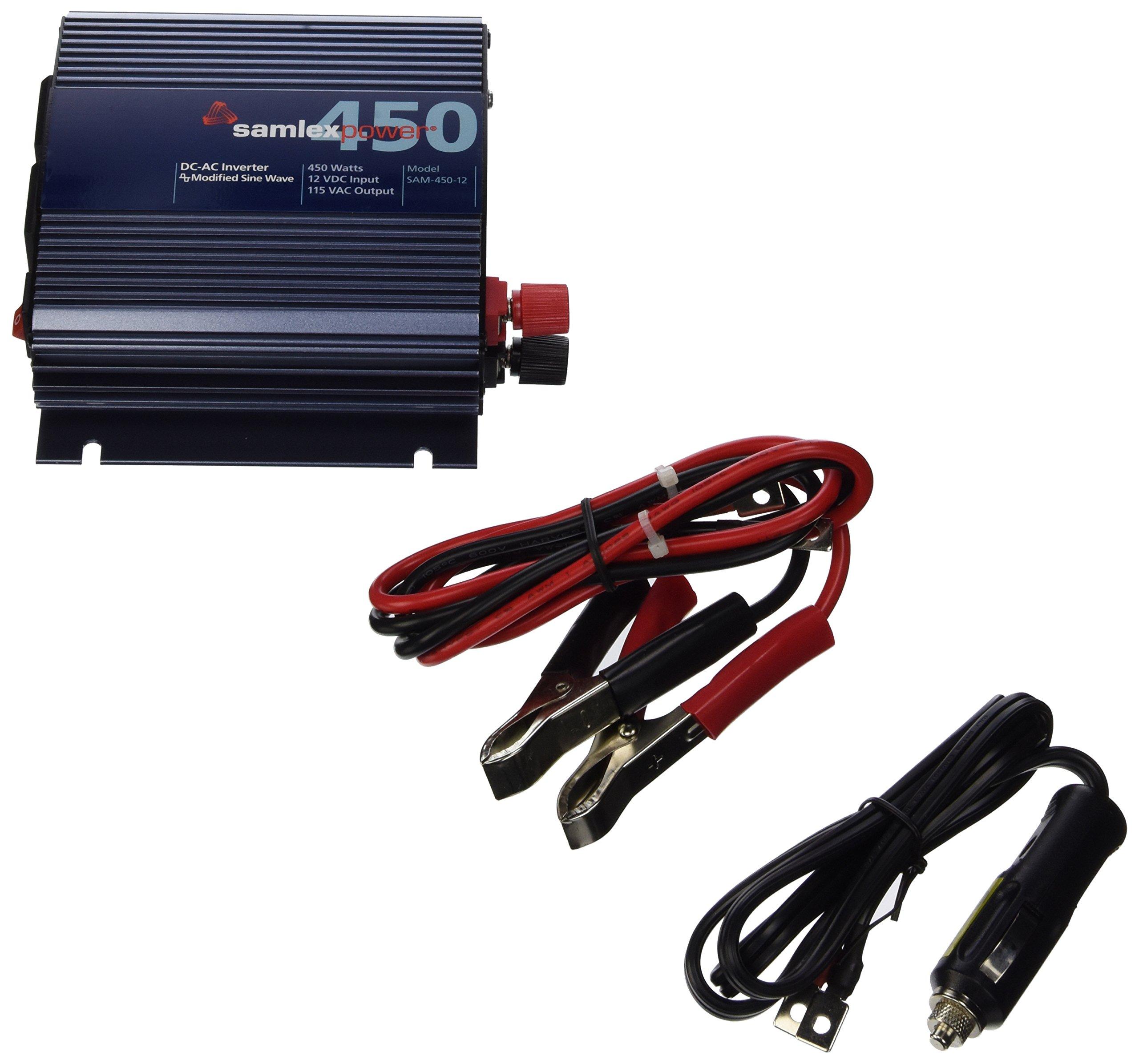 Samlex Solar SAM-450-12 SAM Series Modified Sine Wave Inverter by Samlex America