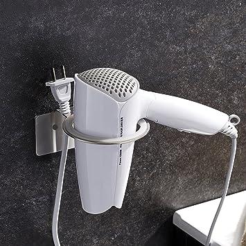 Möbel & Wohnen Badzubehör & -textilien Haartrocknerhalter Kabelhalter Föhnhalter Befestigen Ohne Bohren
