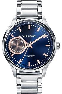 Viceroy 471057-37 watch Multifunction Men Steel Blue
