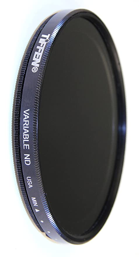 Tiffen 58mm Variable ND Filter  Black