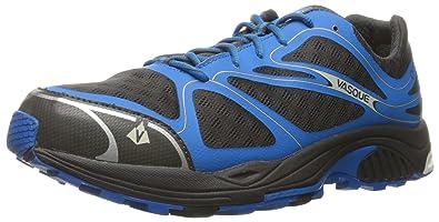 Vasque Men's Pendulum II Gore-Tex Trail Running Shoe, Magnet/Brilliant Blue,