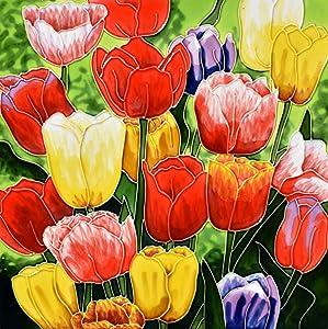 Benaya Floral Creations Handcrafted Ceramic Art Tulip Montage 12