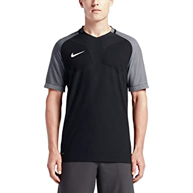 Nike AeroSwift Strike Men's Short Sleeve Soccer Top (Medium, Black/White)