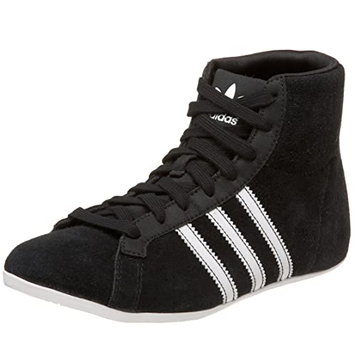 7dd1374557c0 Adidas Originals Women's Campus Dp Round Mid Sneaker, Black/White/Black,  8.5 M: Buy Online at Low Prices in India - Amazon.in