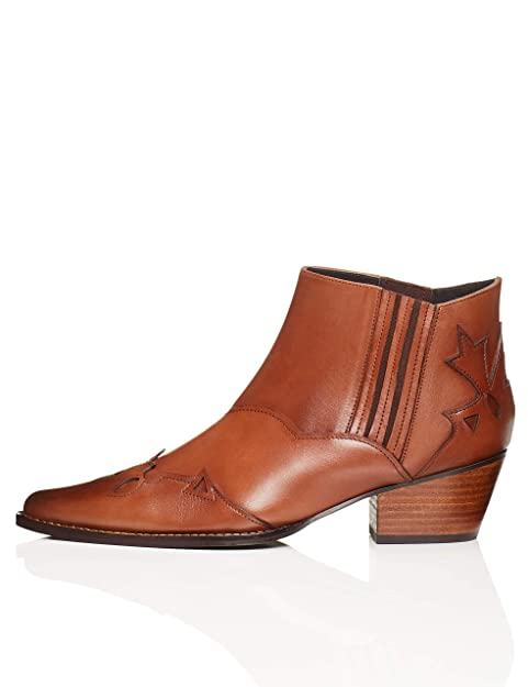 Marca Amazon - find. Botines Estilo Western