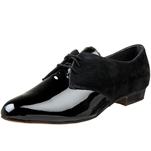Men's Swing Dance Clothing, Vintage Dance Clothes  Mens Doral Tuxedo Blucher Tic-Tac-Toes $106.00 AT vintagedancer.com