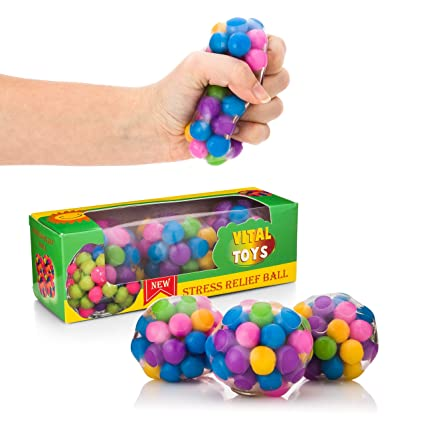 Vital Toys Fidget Balls-Sensory Toys for Autistic Children-Autism Toys for Kids and