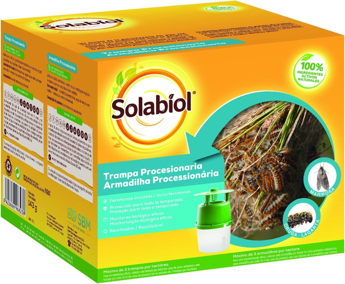 Solabiol Trampa Procesionaria, Verde Agua, 14 X 14 X 12 cm: Amazon ...