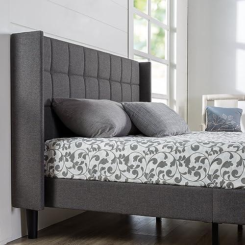 ZINUS Dori Upholstered Platform Bed Frame