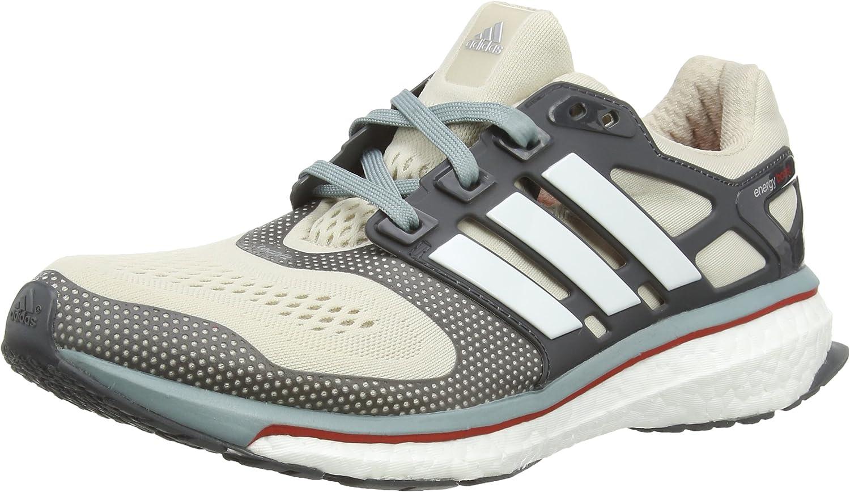 adidas Energy Boost ESM, Zapatillas para Hombre, Multicolor (Clear Brown/White/Vivid Red), 42 EU: Amazon.es: Zapatos y complementos