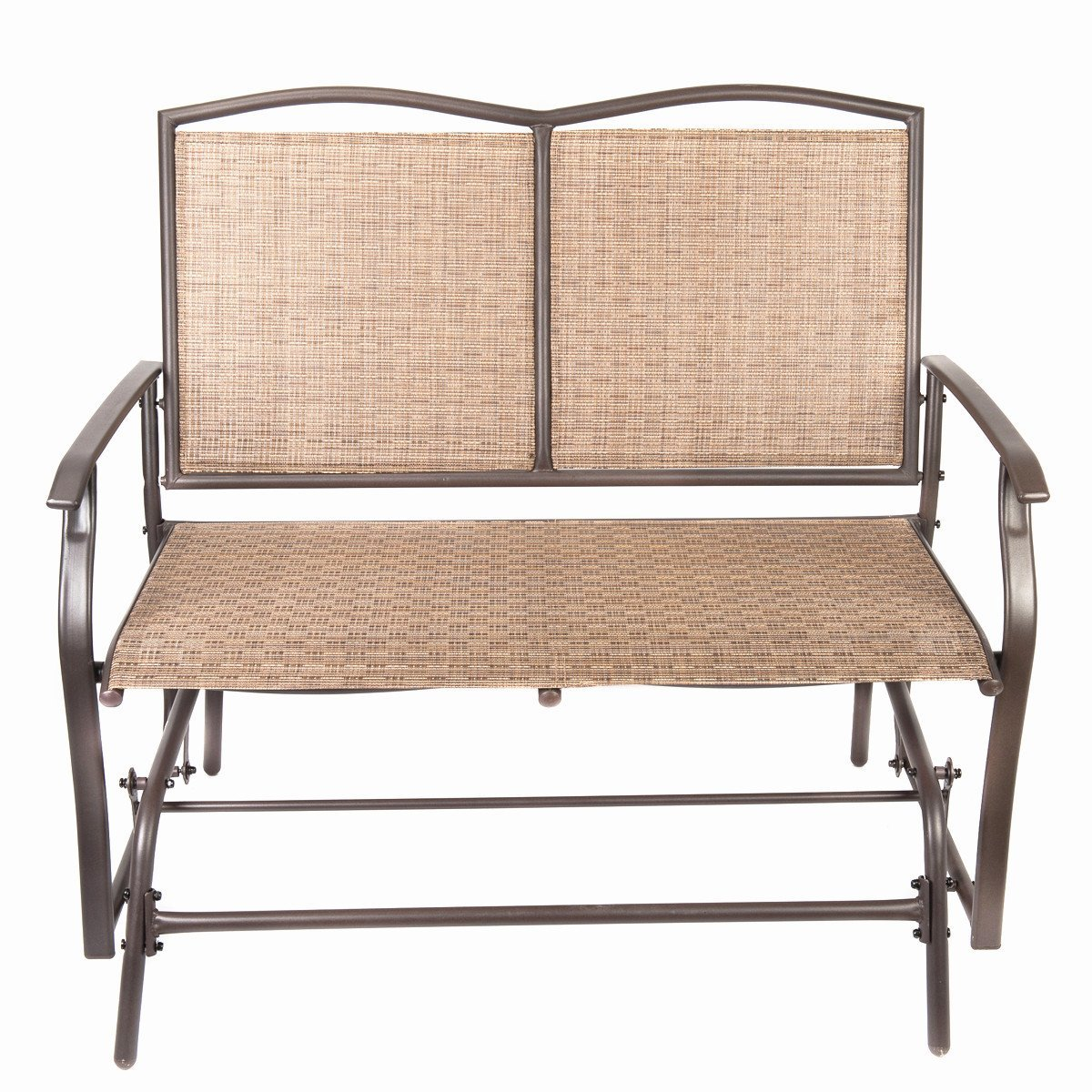 Patio Swing Glider Bench Chair Garden Glider Rocking