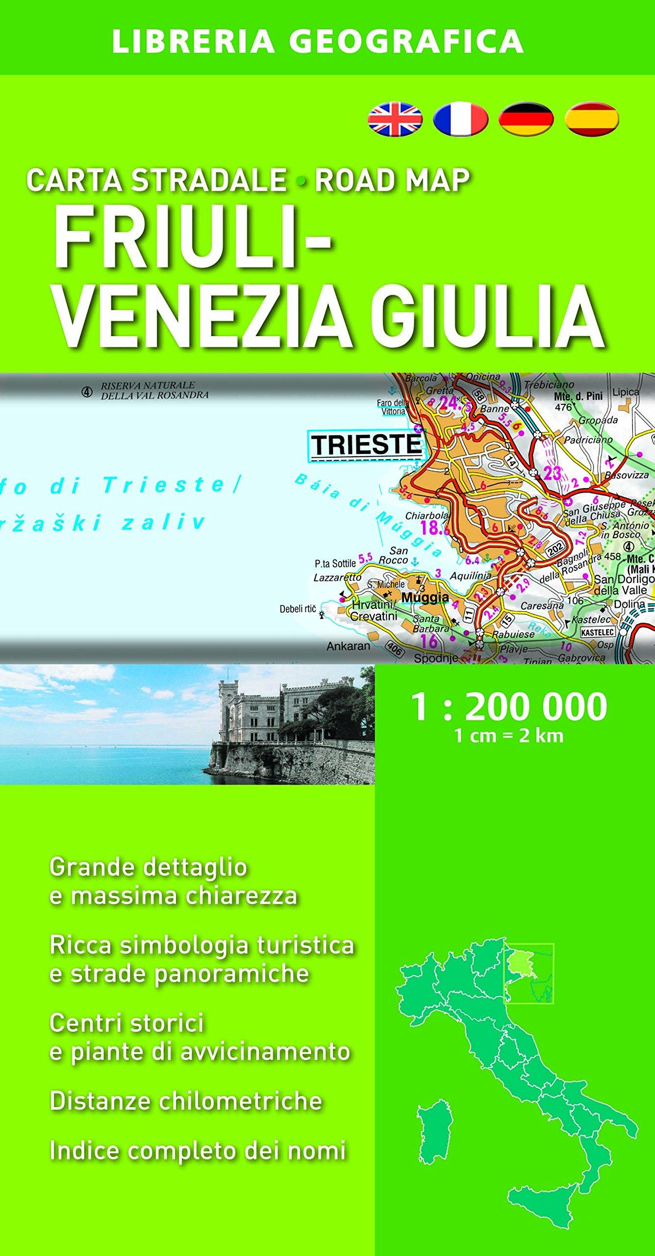 Read Online Friuli-Venezia and Giulia Road Map ebook