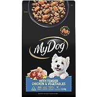 MY DOG Roast Chicken Dry Dog Food 1.5kg Bag, 4 Pack