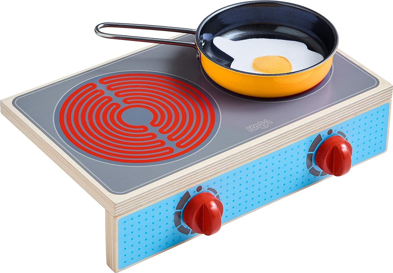 HABA Portable Wooden Cooktop Set Culina