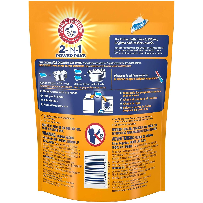 Amazon.com: Arm & Hammer – 2-en-1 lavandería detergente ...