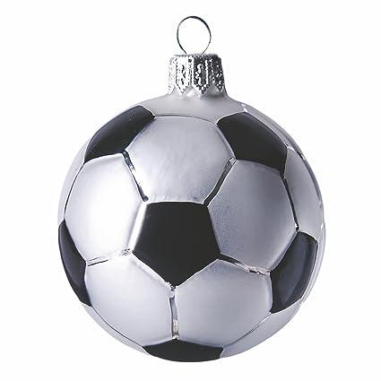 Christmas Ornament Glass Soccer Ball - Amazon.com: Christmas Ornament Glass Soccer Ball: Home & Kitchen